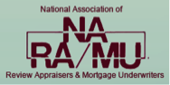 National association of review appraisers and mortgage underwriters logo affiliates page